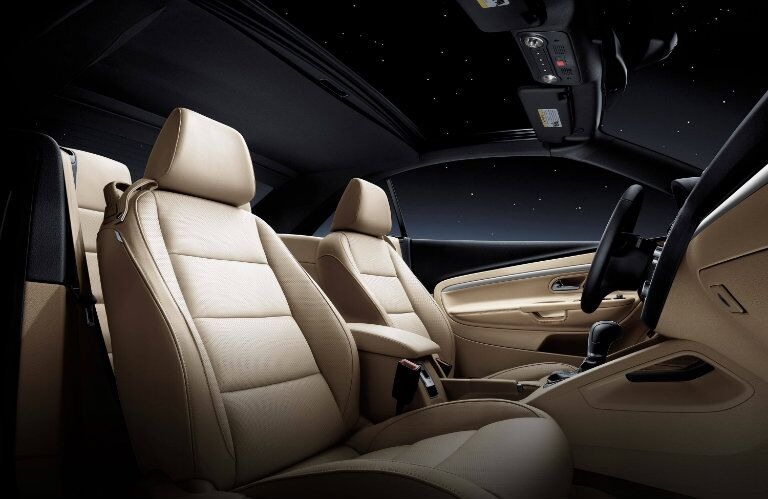 2016 Volkswagen Eos Cleveland OH Beige Leatherette Seating
