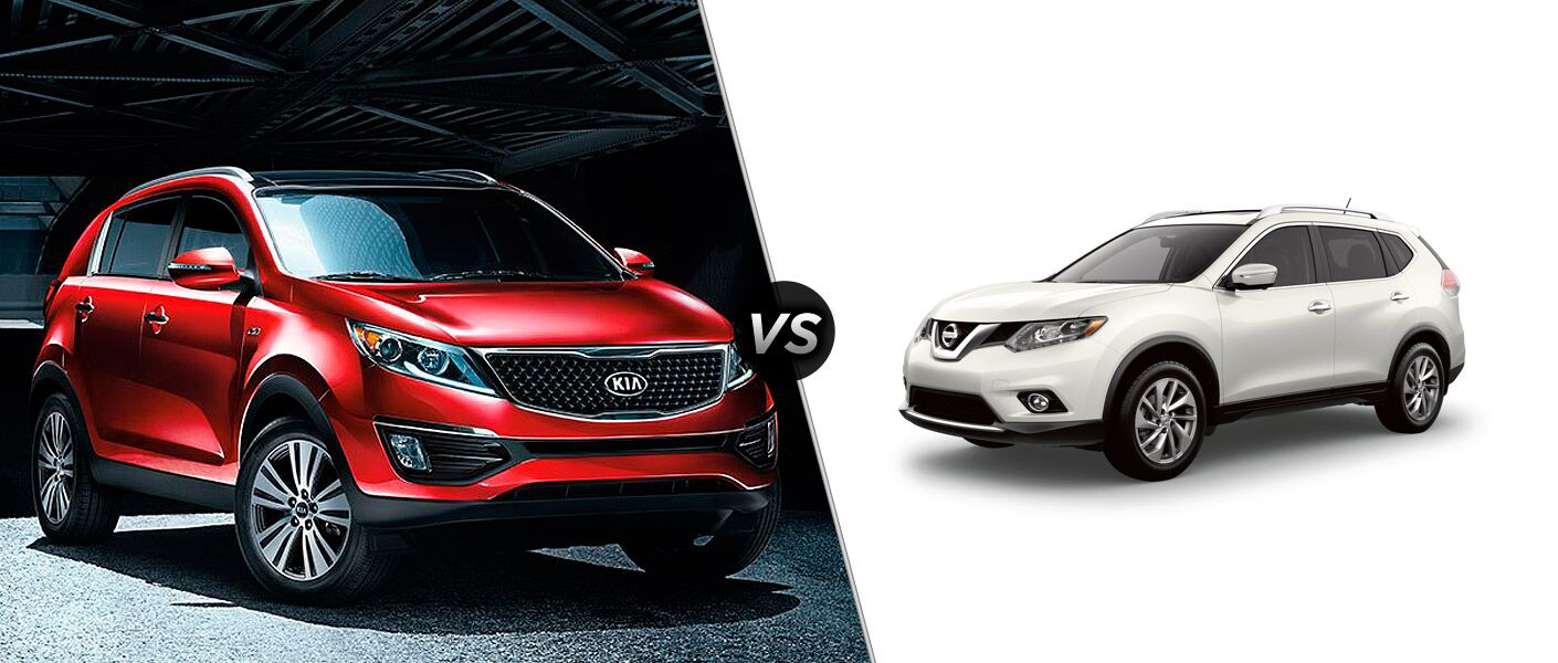 2015 kia sportage vs 2015 nissan rogue. Black Bedroom Furniture Sets. Home Design Ideas
