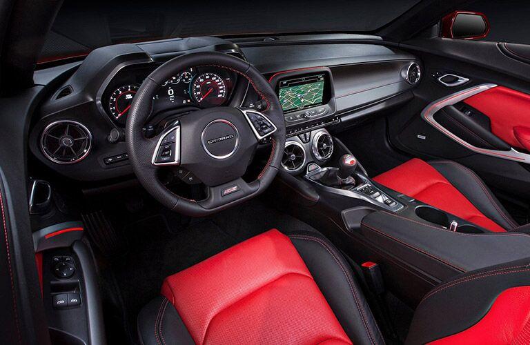 2016 Chevy Camaro interior