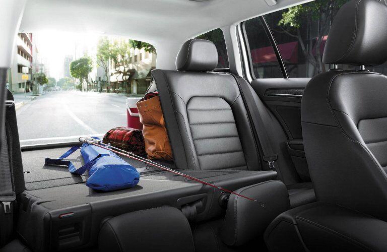 2016 Volkswagen Golf SportWagen Sacramento CA interior storage