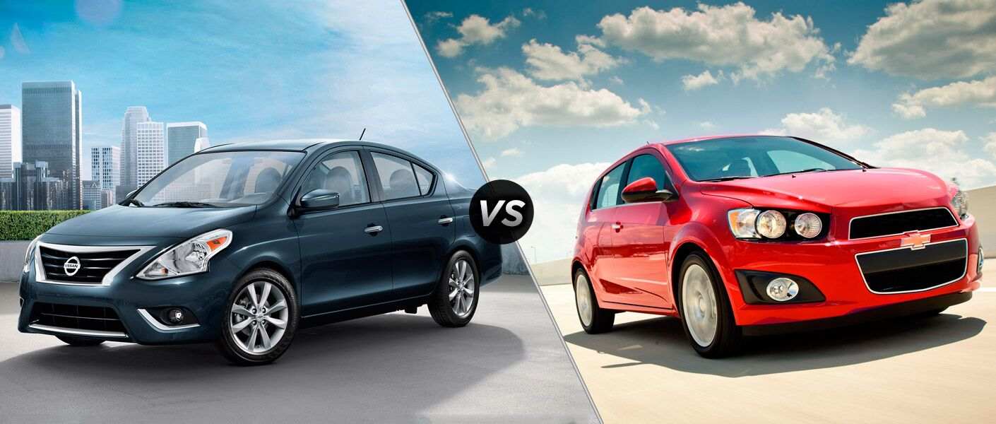 2015 nissan versa vs 2015 chevy sonic. Black Bedroom Furniture Sets. Home Design Ideas