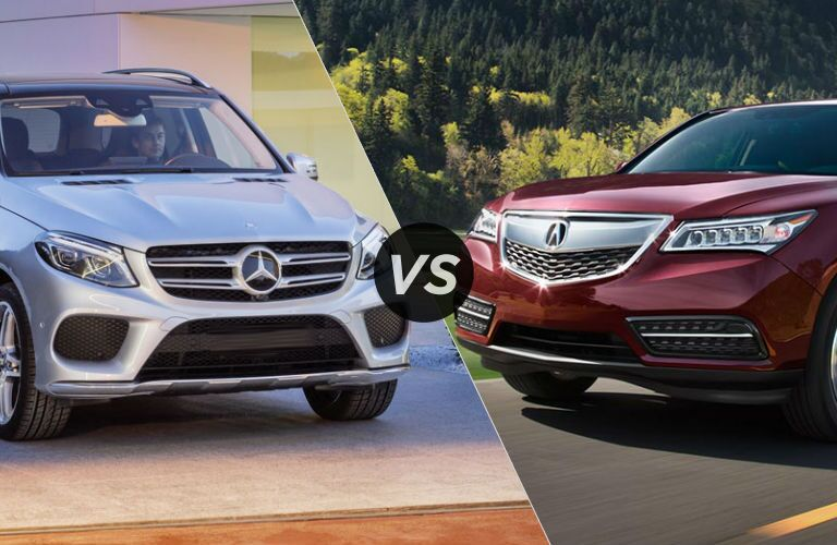 2016 mercedes benz gle suv vs 2016 acura mdx. Cars Review. Best American Auto & Cars Review