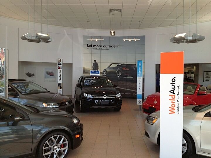 Purchase your next car at Paul Clark Volkswagen