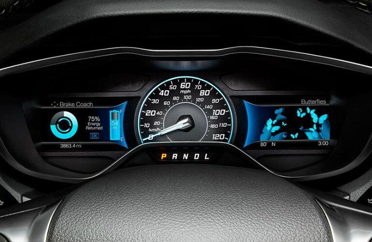 2016 Ford Focus Electric Dash