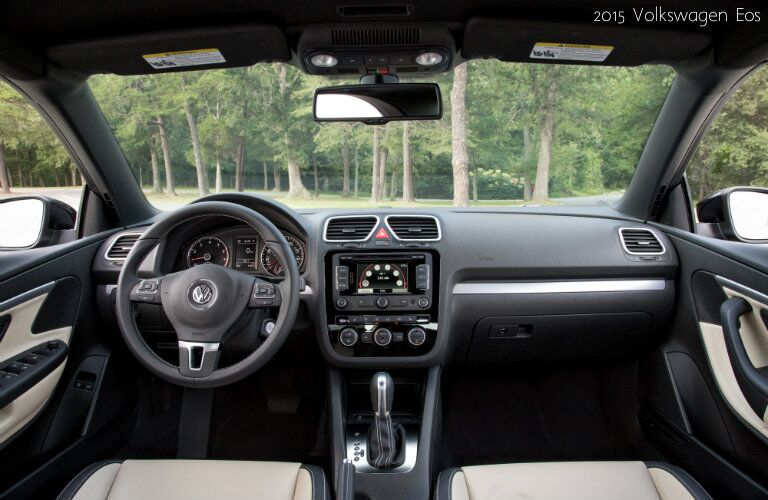 2016 Volkswagen Eos Interior Features