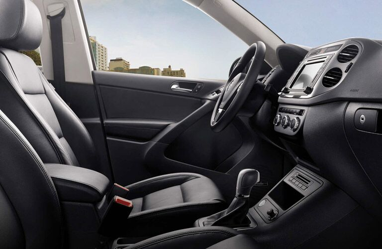 2016 Volkswagen Tiguan Black Leather Seats