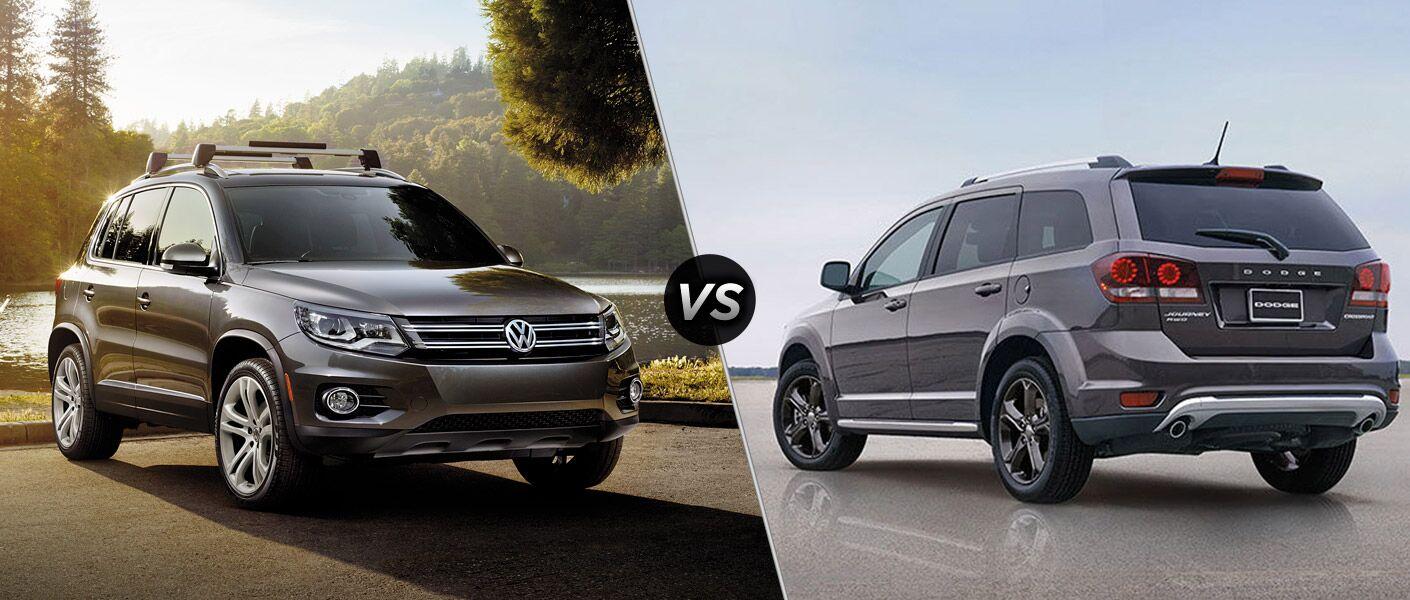 2016 Volkswagen Tiguan vs 2016 Dodge Journey