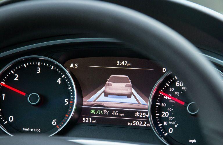 2016 Touareg Dashboard vehicle monitor