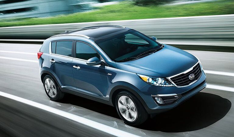 Kia Sportage model information