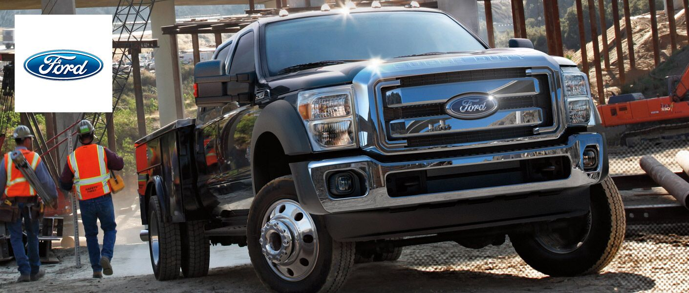 The 2015 Ford Super Duty Edmonton AB is ready for anything.
