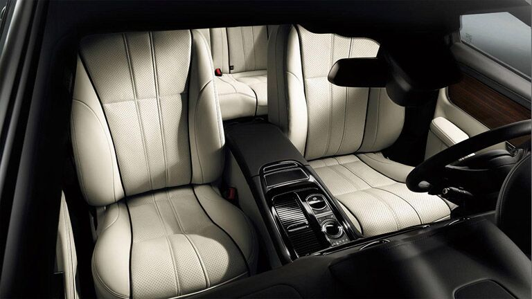 Check out the interior of this used Jaguar in Dallas TX.