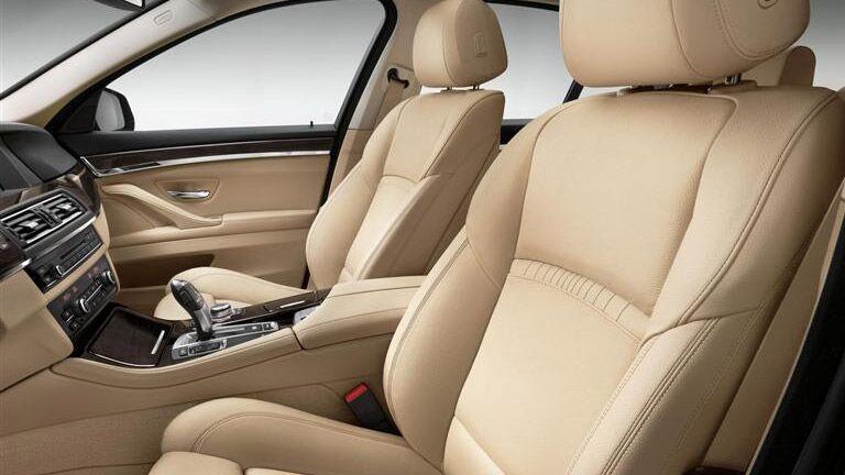 Used BMW 5 Series Dallas TX interior