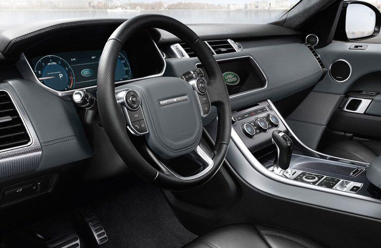 Used Land Rover Range Rover Sport Dallas TX interior