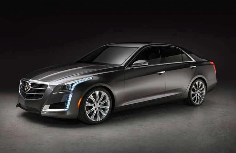 Used Cadillac CTS Dallas TX side view