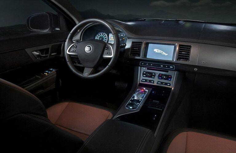 Used Jaguar XF Dallas TX interior