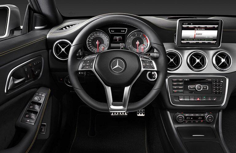 Used Mercedes-Benz CLA Dallas TX interior