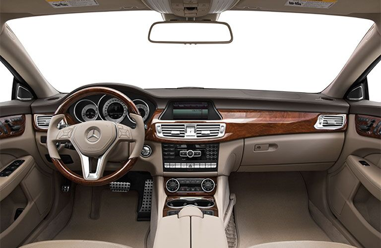 Used Mercedes-Benz CLS Dallas interior