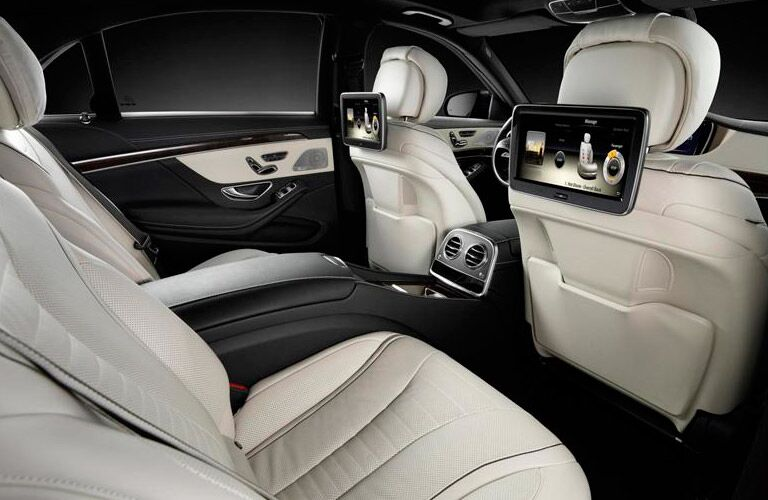 The interior of a used Mercedes-Benz S-Class near Dallas TX has a lot to offer.