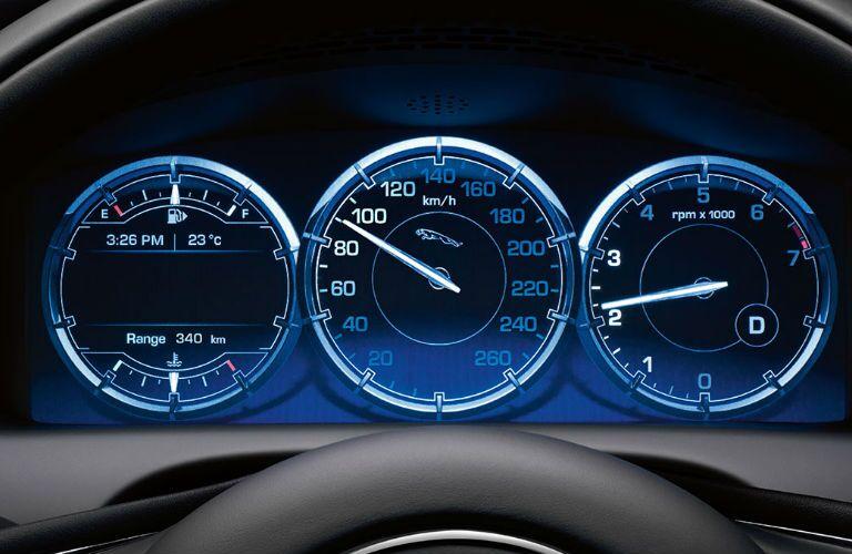 Used Jaguar XF Dallas TX dashboard