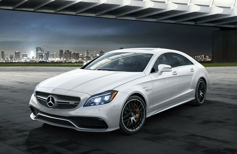 Used Mercedes-Benz CLS Dallas white color