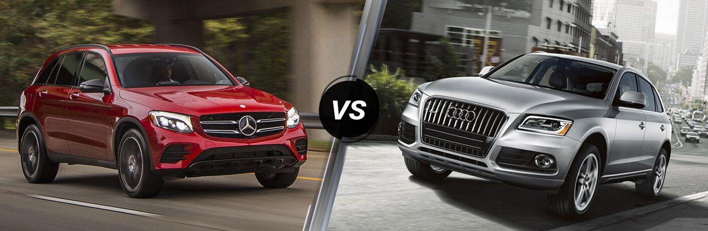 2016 mercedes benz glc vs 2016 audi q5 for Mercedes benz glc suv lease
