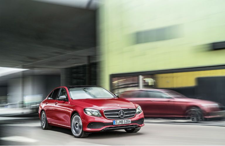 2017 Mercedes-Benz E-Class Red Modern Look