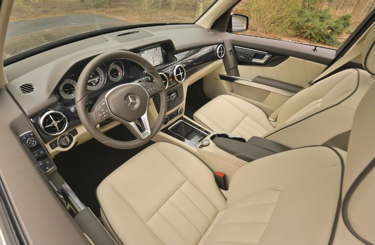 GLK250 BlueTEC 4MATIC Tan Interior