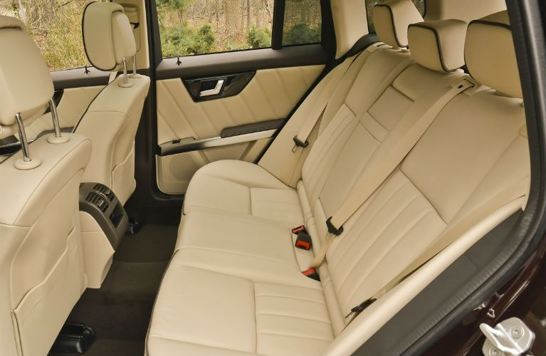 2015 GLK Back Seat Capacity