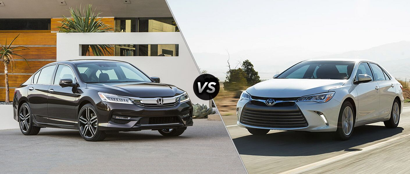 2016 Honda Accord Touring vs 2016 Toyota Camry XSE