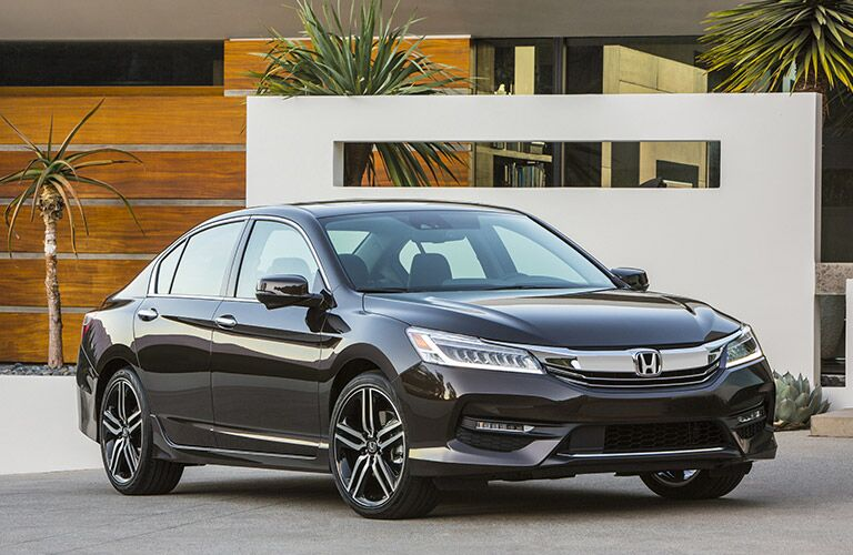 Honda Accord front profile