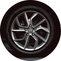 2015 Nissan Sentra low-rolling-resistance tires