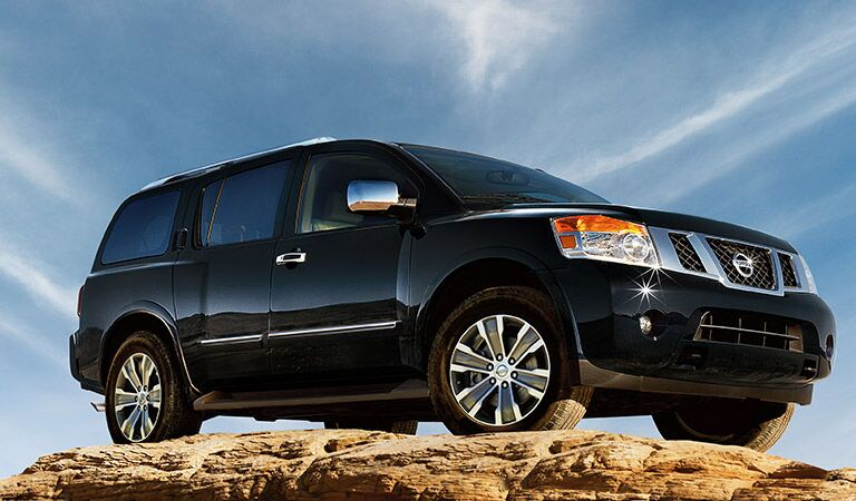 Go on an adventure and conquer new lands with the Nissan Armada