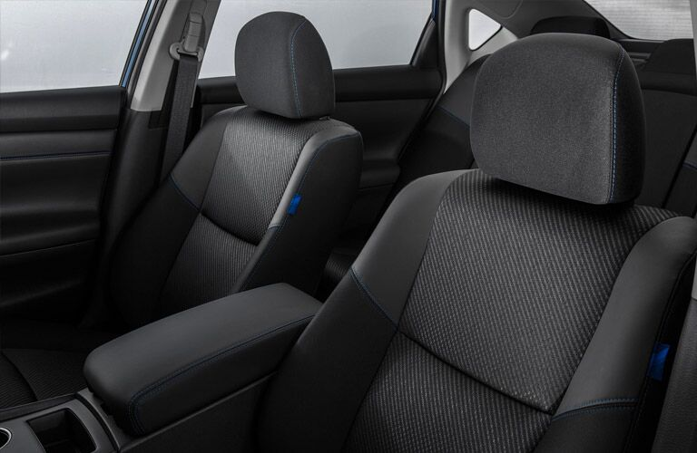 2016 Nissan Altima interior cloth seating