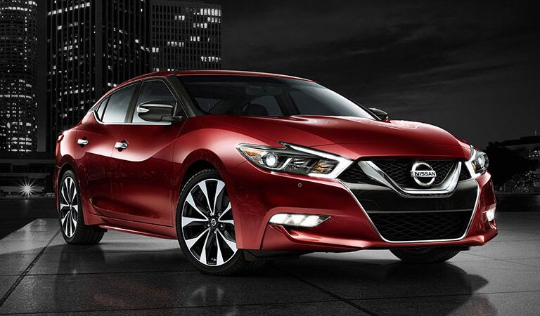 Luxury and performance on the Nissan Maxima