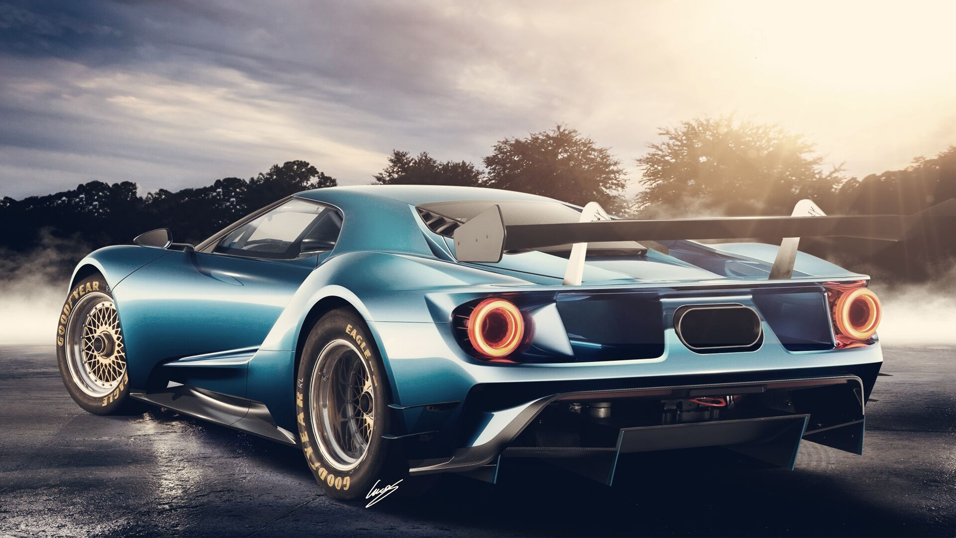 Will Mark The Jaw Dropping Rebirth Of The Even More Powerful Modern Ford Gt