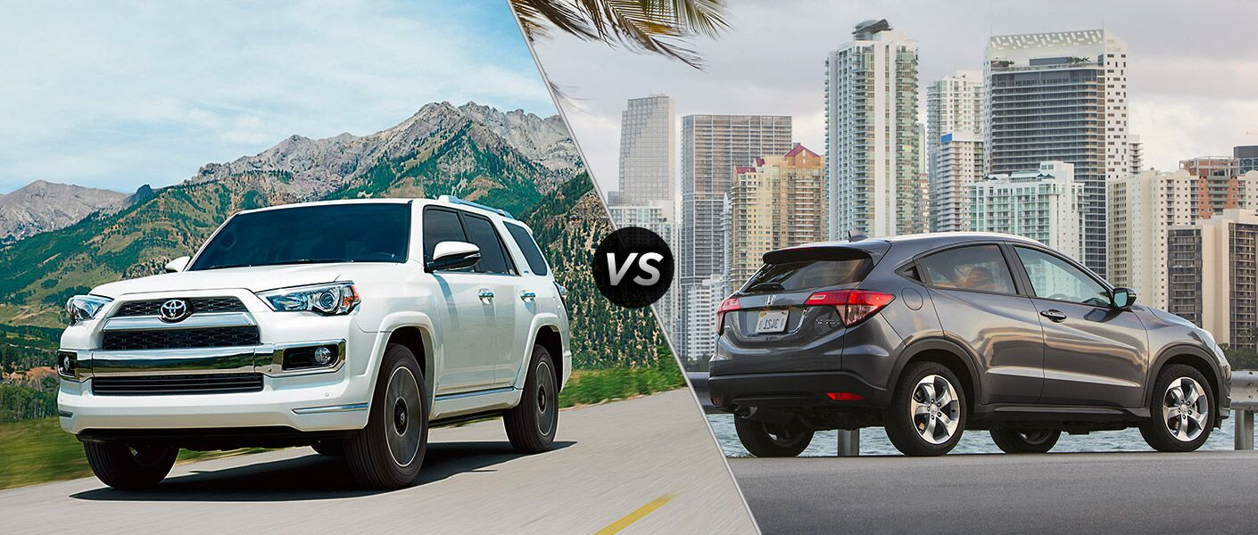 Home New Toyota Toyota Model Comparison 2016 Toyota 4Runner vs 2016 ...