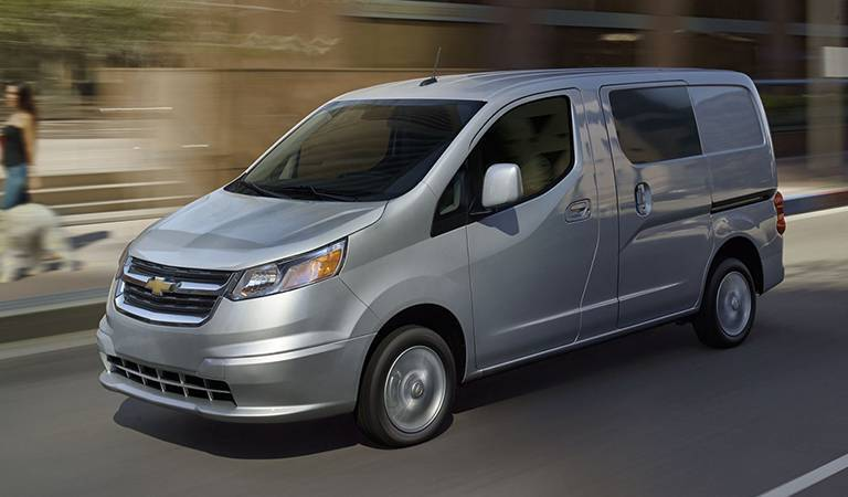 2016 Chevy City Express at Osseo Auto in Eau Claire