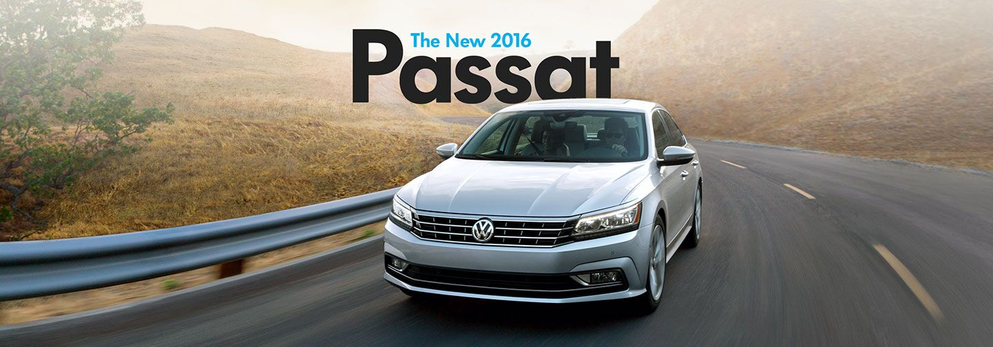 Order your new Volkswagen Passat at Volkswagen of Downtown LA