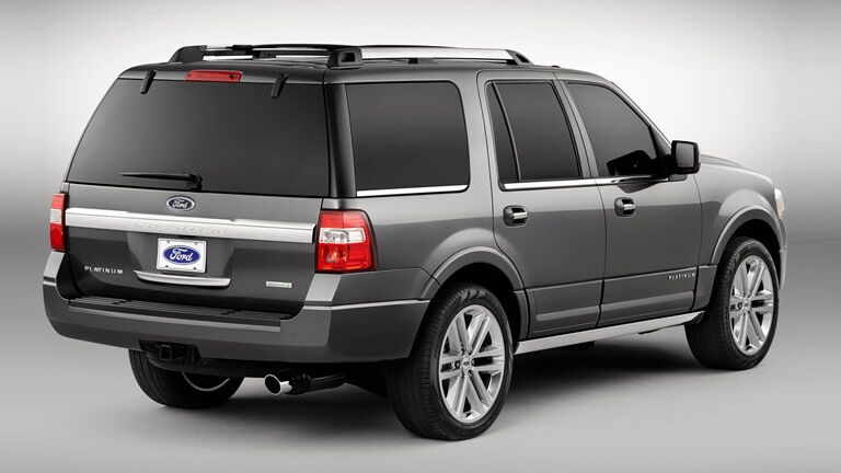 The exterior of the 2015 Ford Expedition Winder GA is sporty and tough.