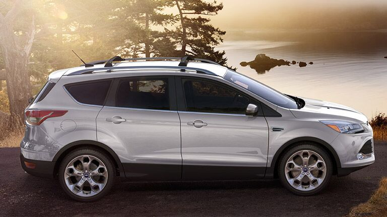 The 2015 Ford Escape is sleek and classy.