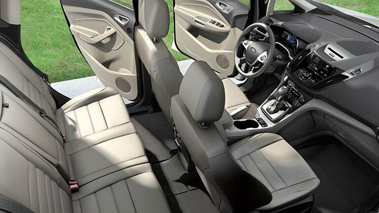 Seating comfort on the 2015 Ford C-Max Hybrid