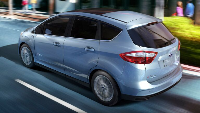 2015 Ford C-Max Hybrid in silver