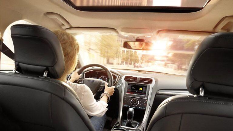 Have fun with the customizable 2015 Ford Fusion Atlanta GA interior!