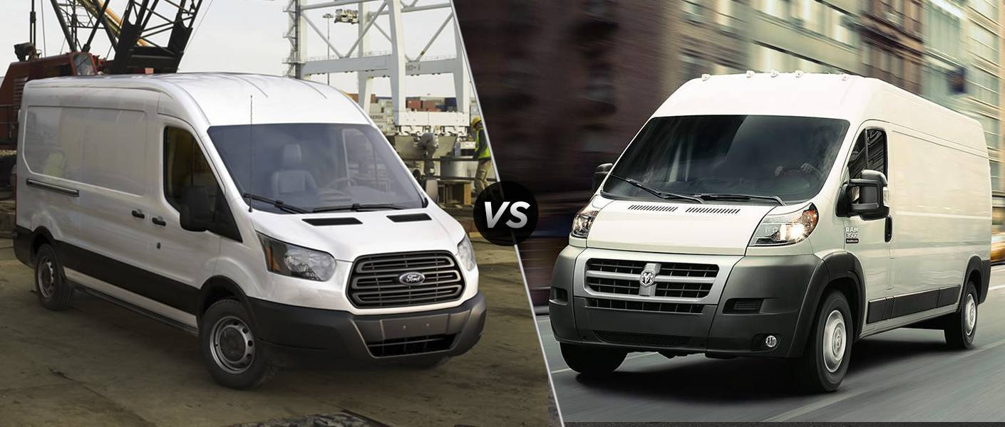 2015 Ford Transit vs 2015 Ram ProMaster