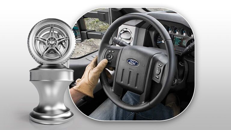 steering wheel 2015 Ford Super Duty F-250