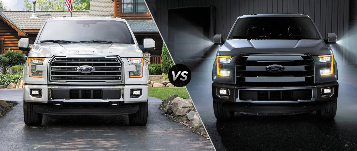 2016 Ford F-150 vs 2015 Ford F-150