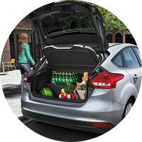 Luggage Space on the 2016 Ford Focus