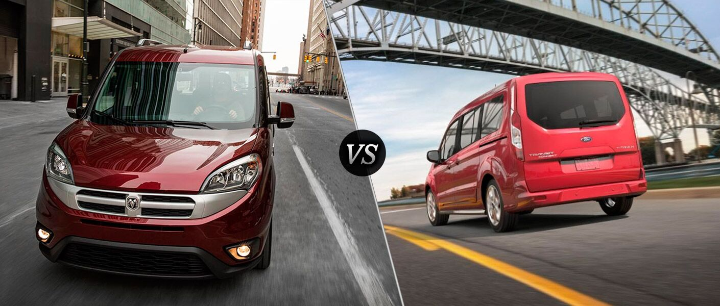 2016 Ram ProMaster City vs 2016 Ford Transit Connect