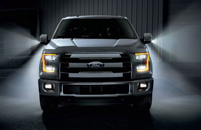 2016 F-150 Grille view with lights