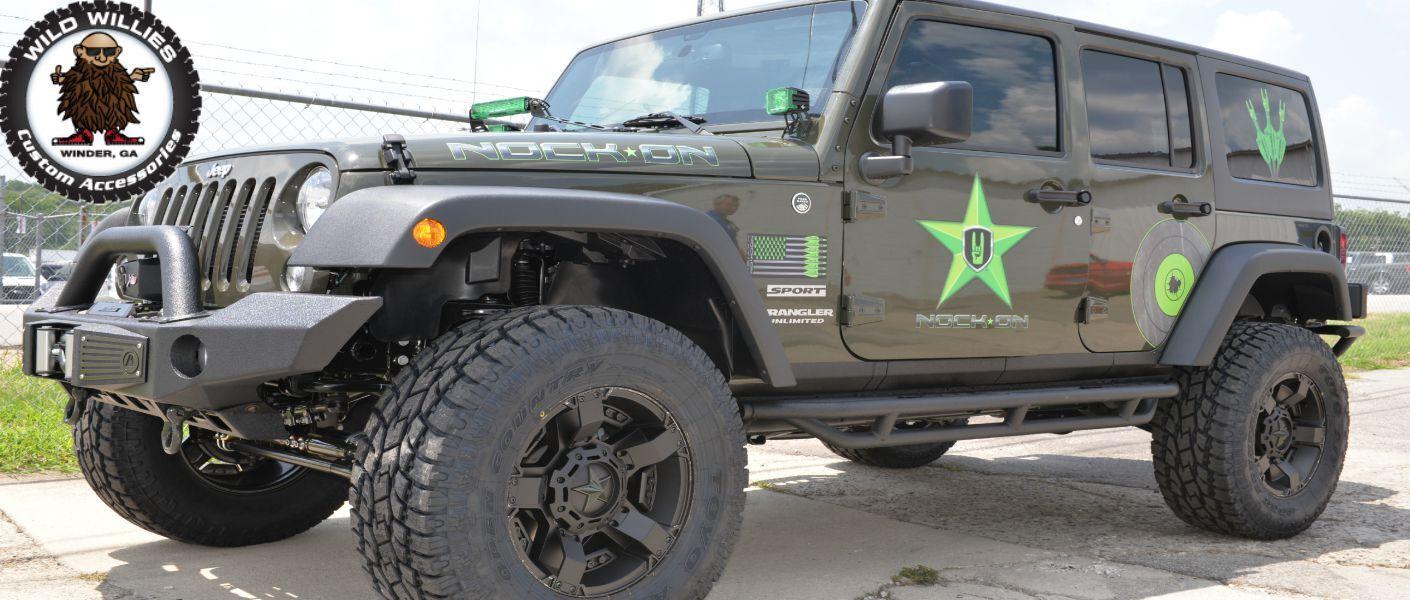 Custom truck accessories in Atlanta